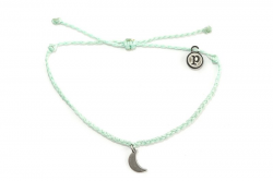 Silver Bitty Moon Seafoam