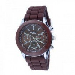 Watch By Time Brown