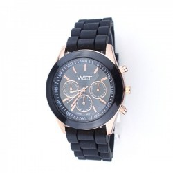 Watch by Time Black