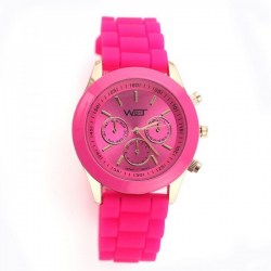 Watch by Time Pink